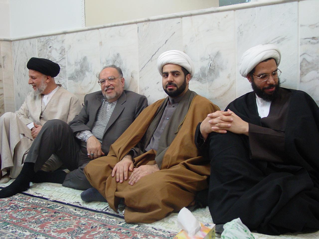 زواج السيد حسين العوامي في قم المقدسة 2