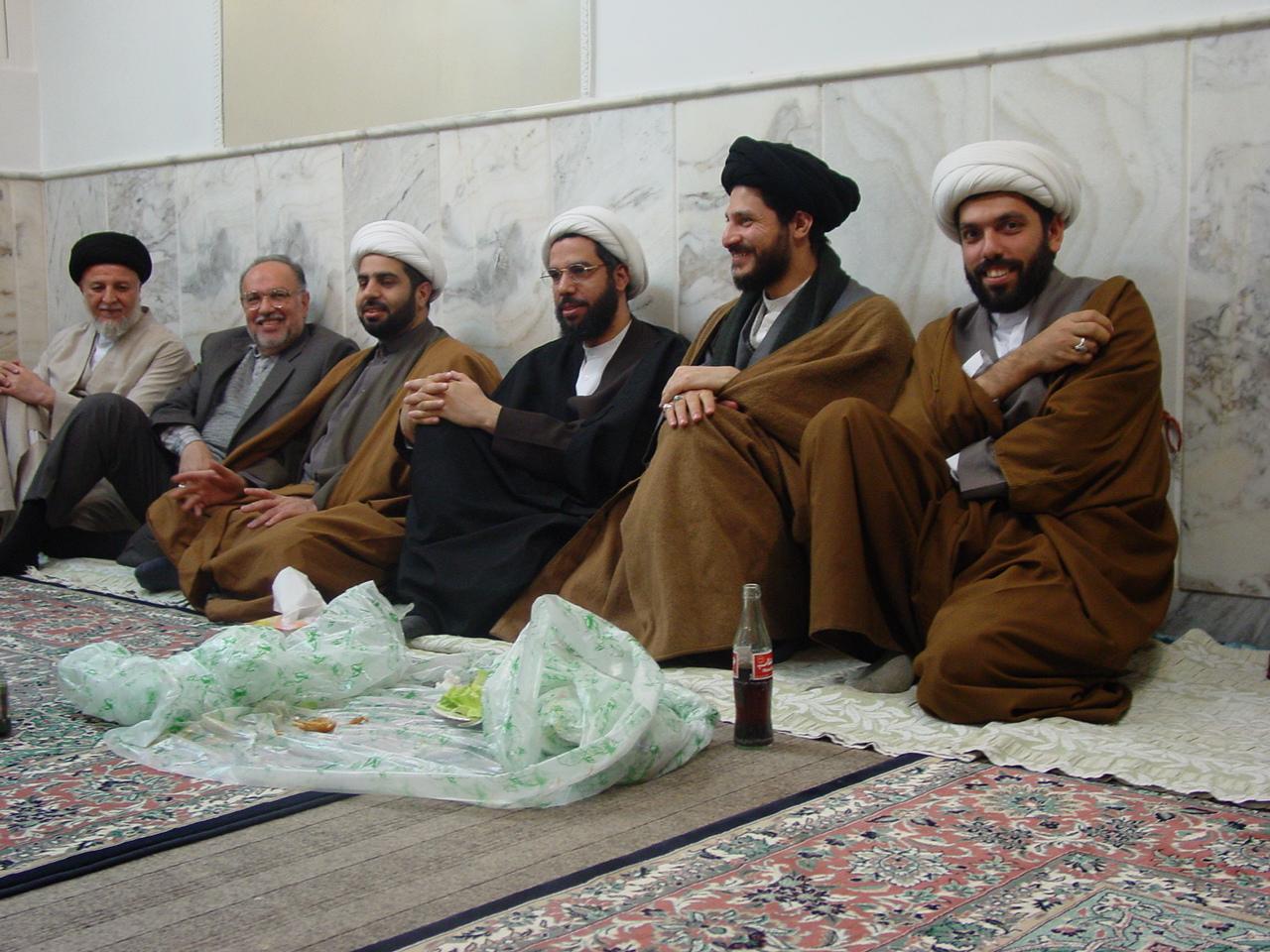 زواج السيد حسين العوامي في قم المقدسة 3