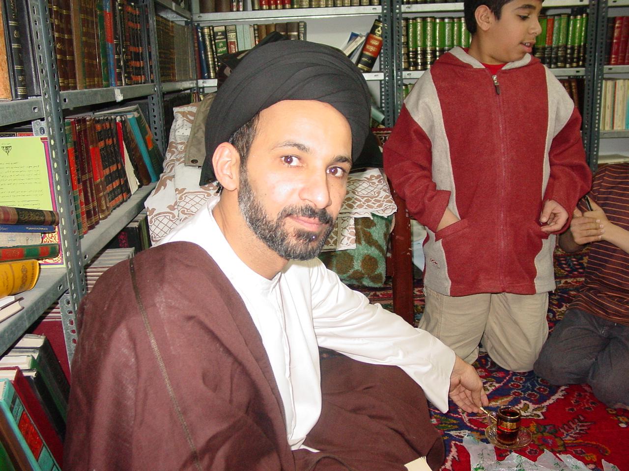 زواج السيد حسين العوامي في قم المقدسة 4