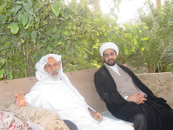 فضيلة الشيخ محمد المشيقري مع العلامة الشيخ صالح السلطان رحمه الله