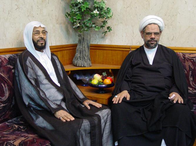 فضيلة الشيخ عبد الله آلدار  -ا المرحوم الملا أحمد المعيوف رحمه الله