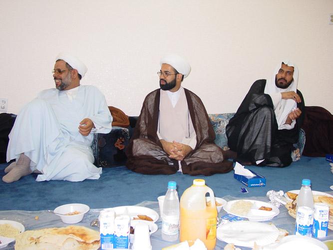 الشيخ عبد الخالق ثنيان - الشيخ فيصل العرقان - الشيخ عبد الله الدار
