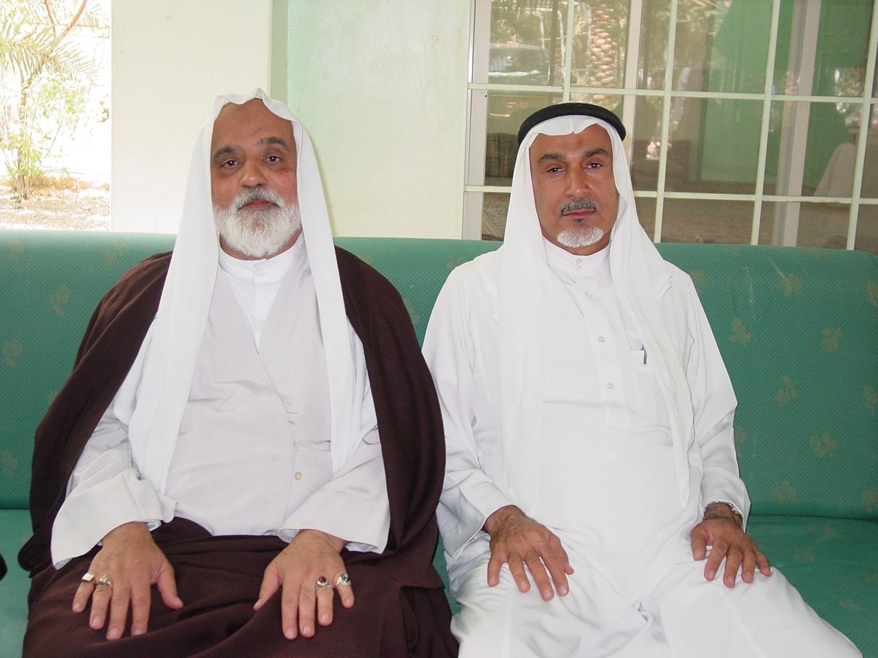 المرحوم الحاج سعيد المناميين - الشيخ حسن ابو خمسين
